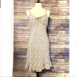 Vintage Jodi Michaels Tie Bodice Spring Dress 4